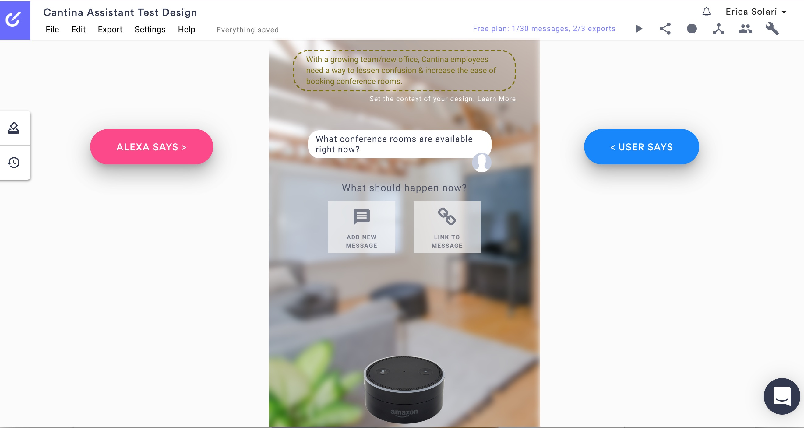 Designing for Voice User Interfaces and Conversational