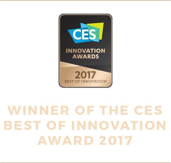 Winner of the CES Best of Innovation Award 2017